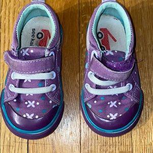Pair of See Kai Run sneakers.